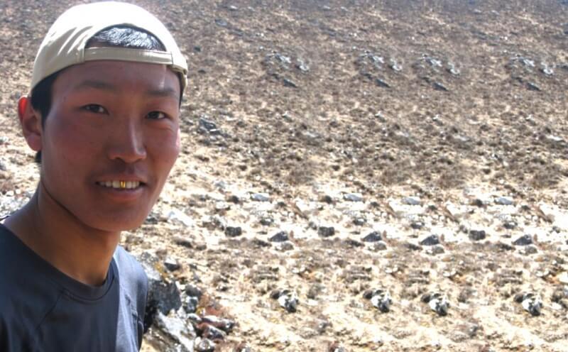 Dendi Sherpa, our long man