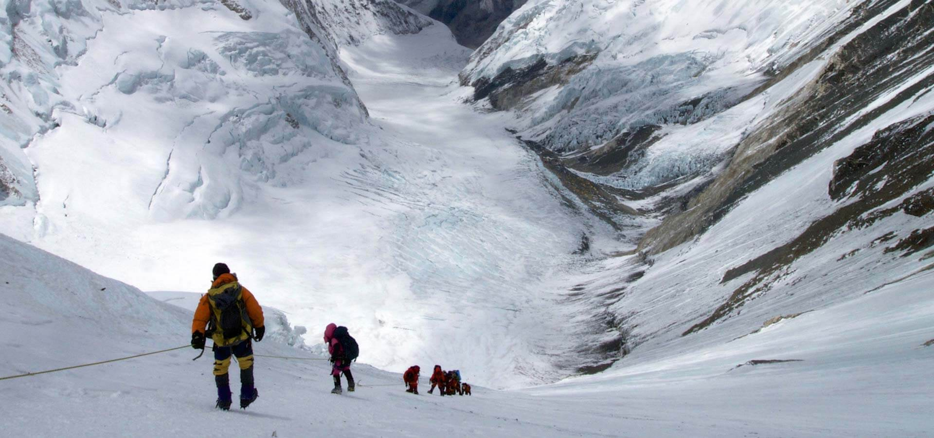 Coming down the Lhotse Face