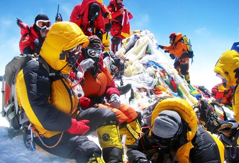 First Myanmar Everest summit and more