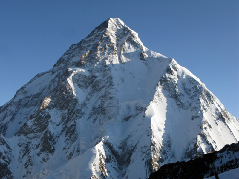 Lakpa, Chirring and Chris summit K2! 6PM
