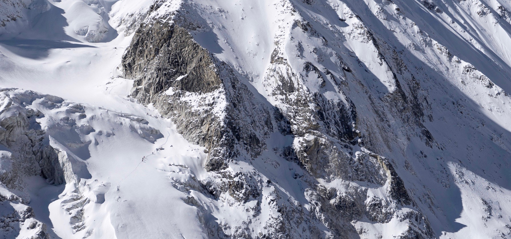 Descending Larkey Peak